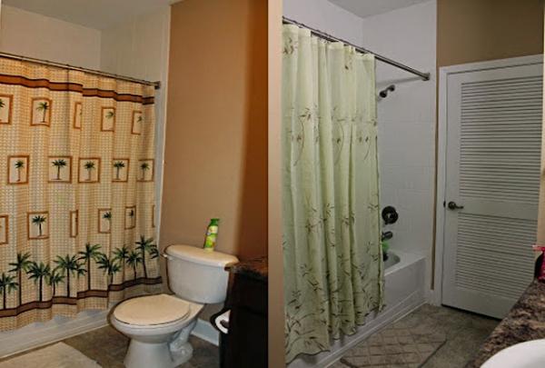 Master Bath and Guest Bathroom