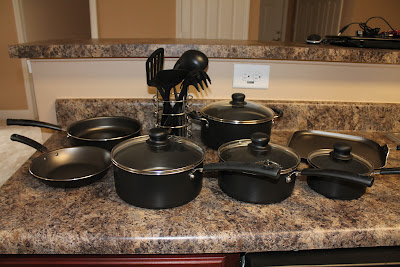 Mainstays Non-stick Aluminum Cookware Sets - 40% off Sears